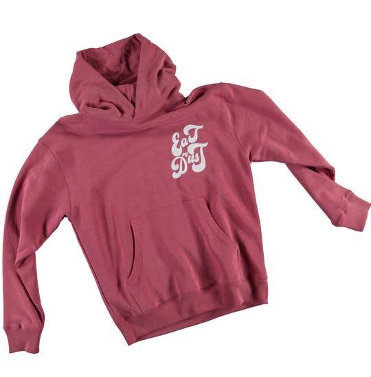 Sweater Eat My Dust Heavy Fleece Red-3