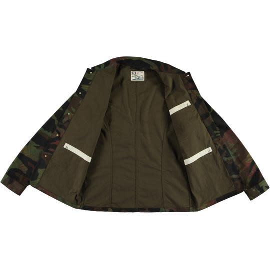 Mens Worker Jacket Jungle Camo-3