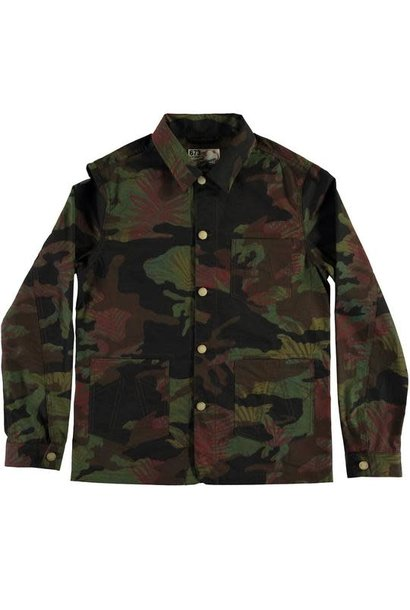 Mens Worker Jacket Jungle Camo