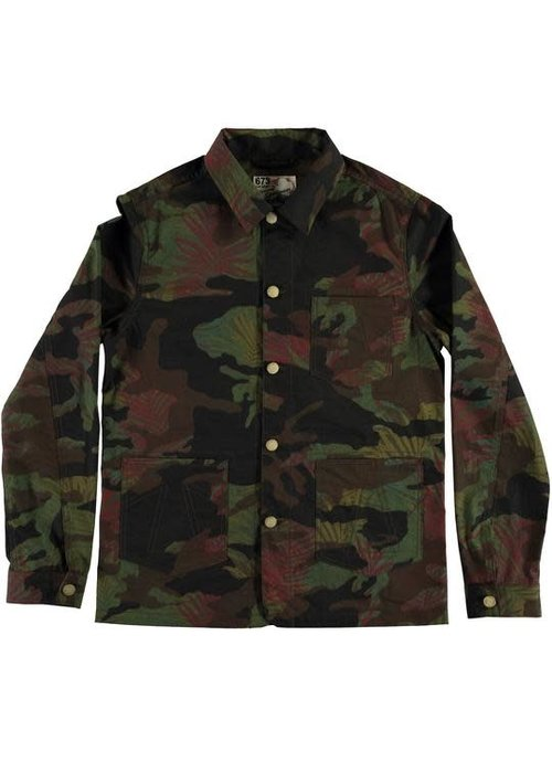 Eat Dust Mens Worker Jacket Jungle Camo