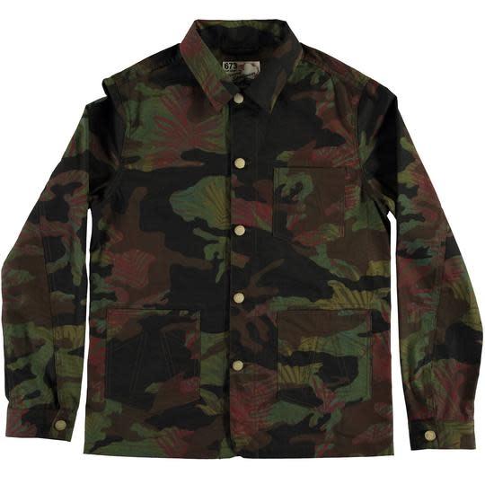 Mens Worker Jacket Jungle Camo-4