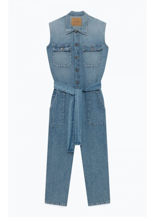 American Vintage Winiboo Denim Jumpsuit