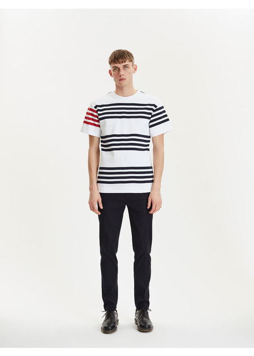 Libertine Libertine Cooper White Navy Stripes
