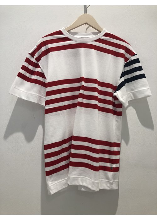 Libertine Libertine Cooper White Red Stripes