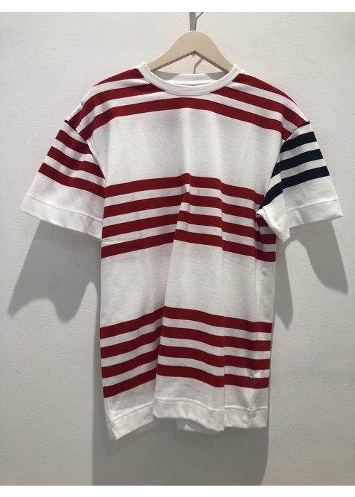 Libertine Libertine Cooper White Red Stripes