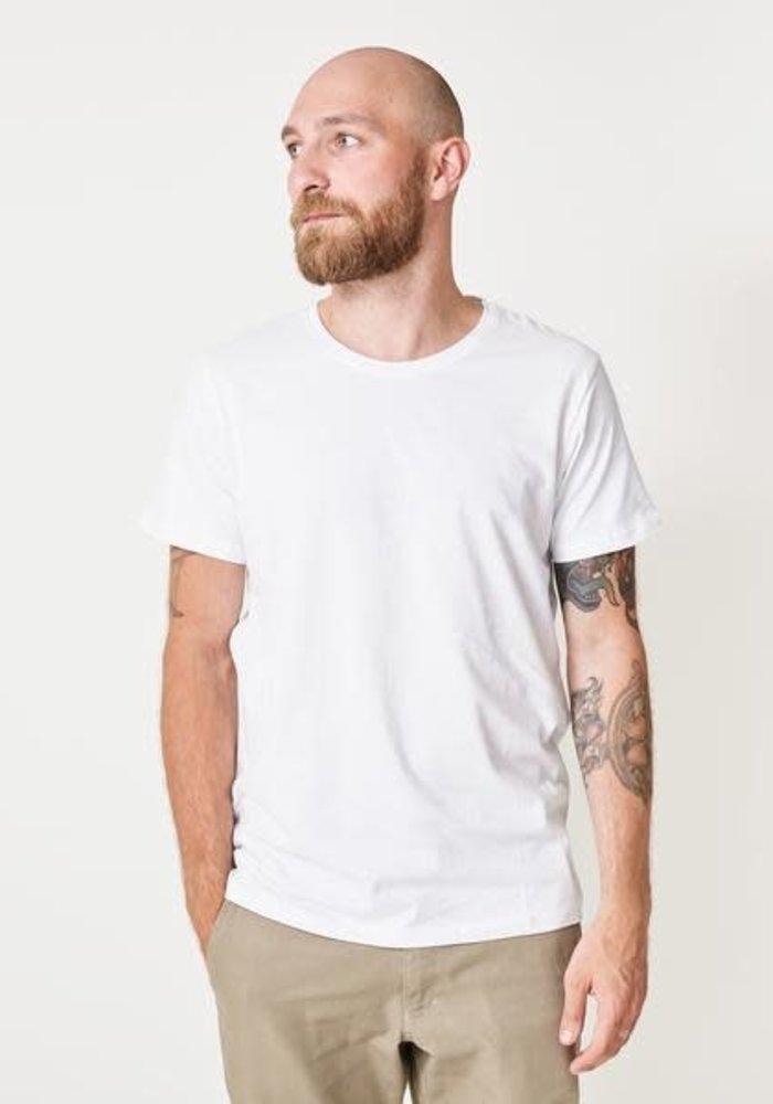 Anton Basic White T-shirt