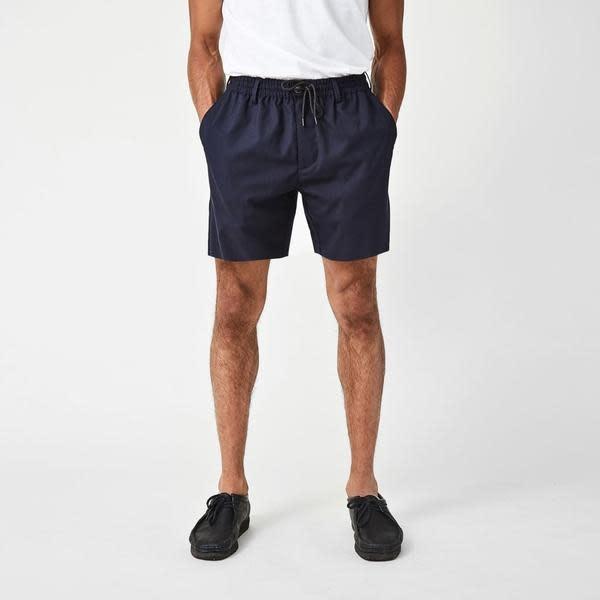 Saxo Core Shorts Navy-2