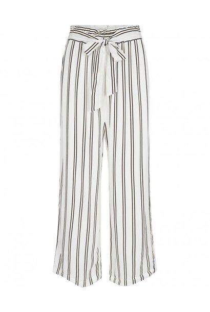 Avril HW Striped Culotte White