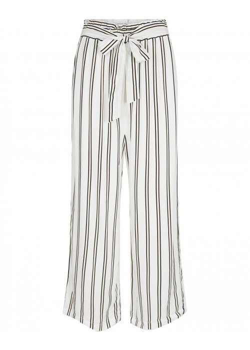 Moss Copenhagen Avril HW Striped Culotte White
