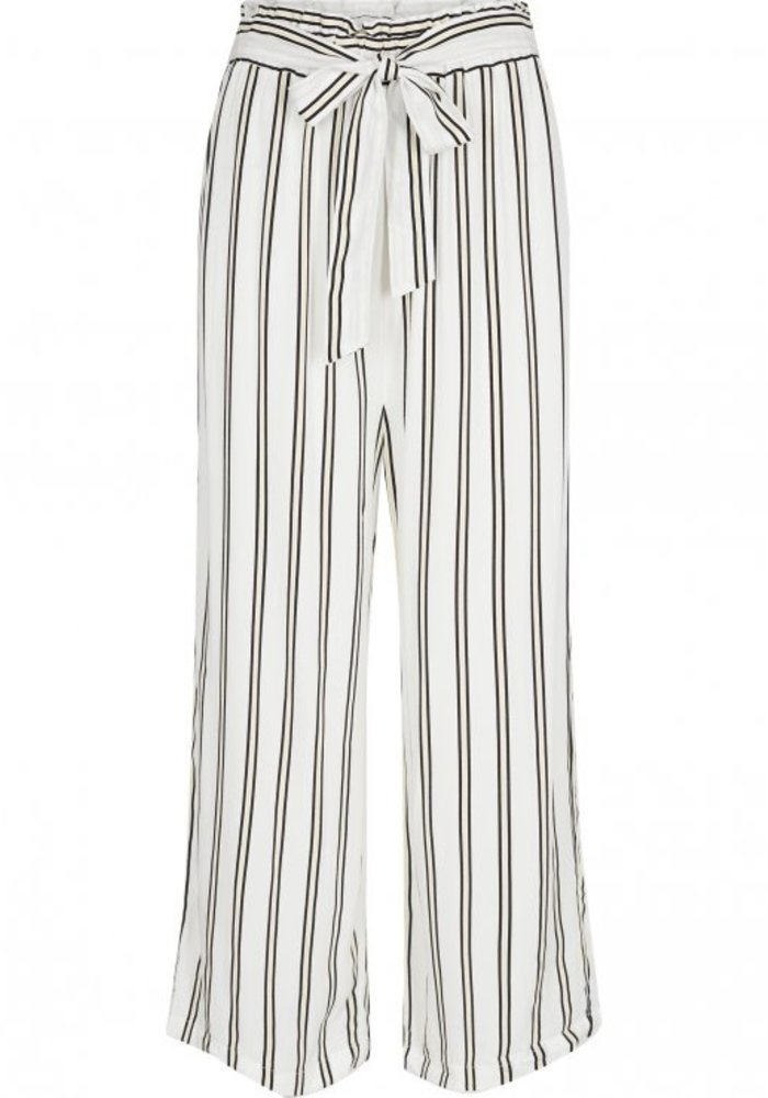 Avril HW Striped Culotte White