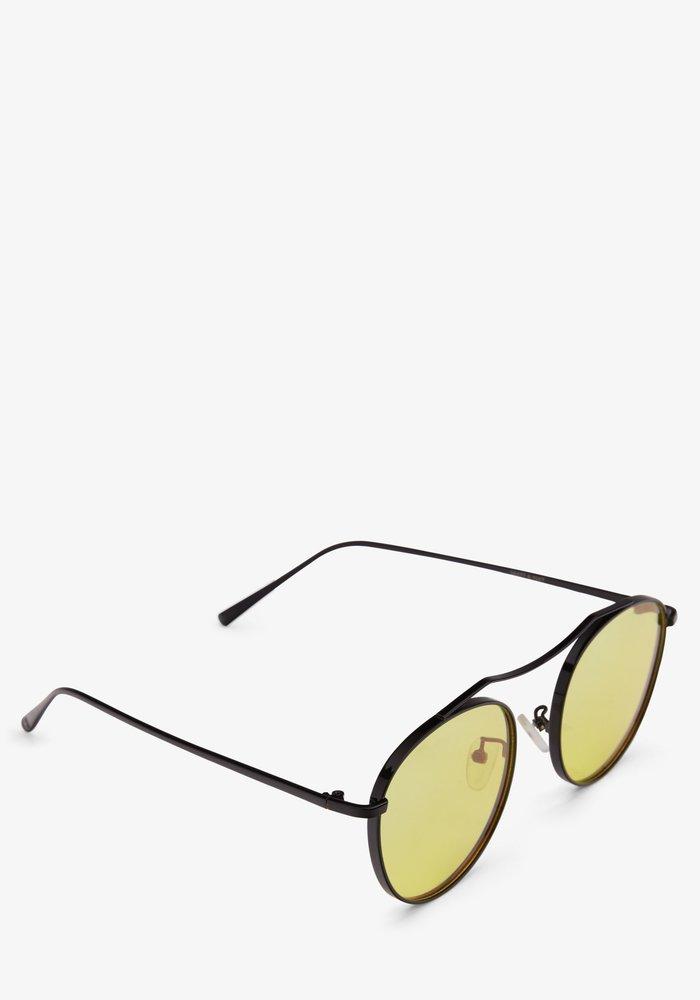 Otis Black Yellow Polarized Coloured Sunglass