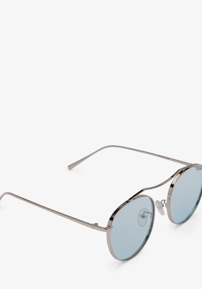 Otis Silver Blue Polarized Coloured Sunglass