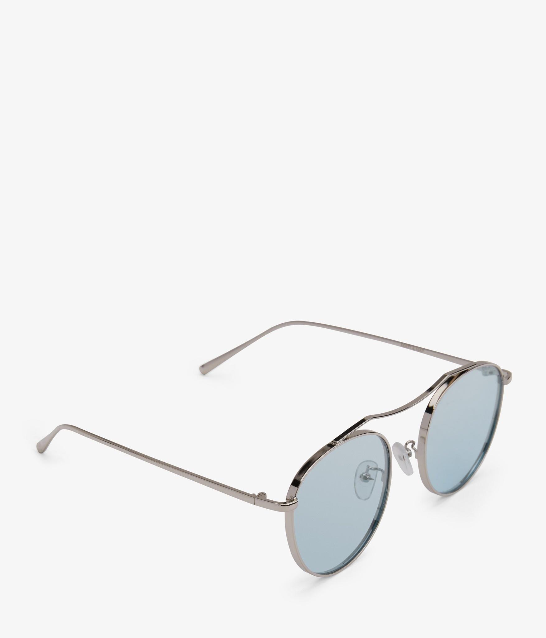 Otis Silver Blue Polarized Coloured Sunglass-2