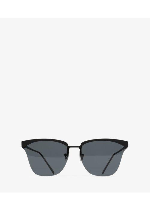 Matt & Nat Alena Classic Frame Black Polarized Sunglasses