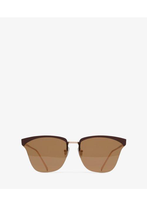 Matt & Nat Alena Classic Brown Frame Polarized Sunglasses
