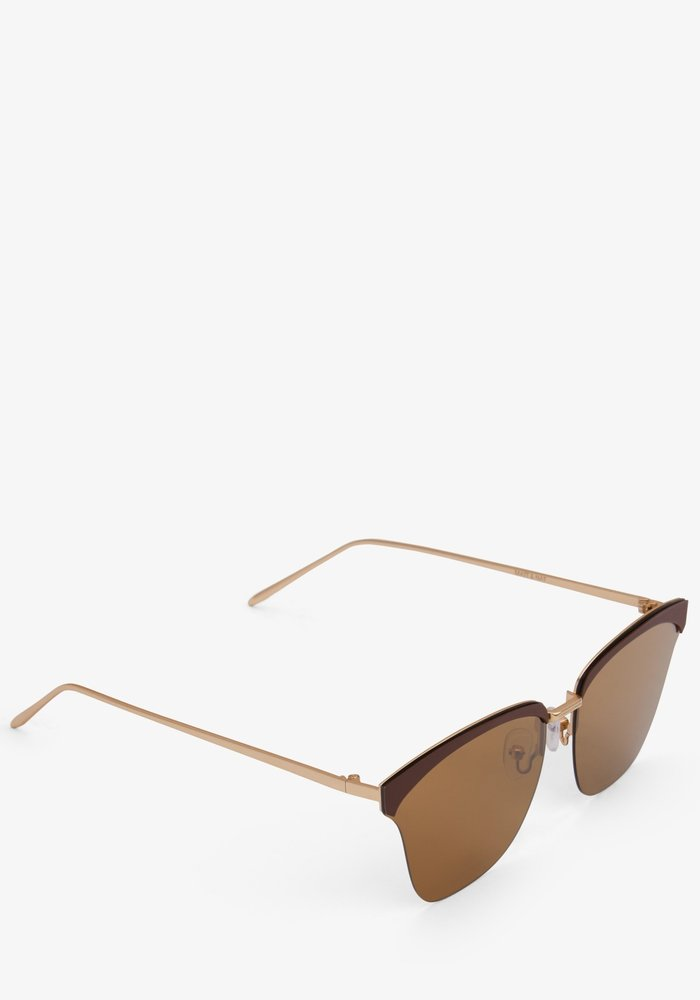Alena Classic Brown Frame Polarized Sunglasses