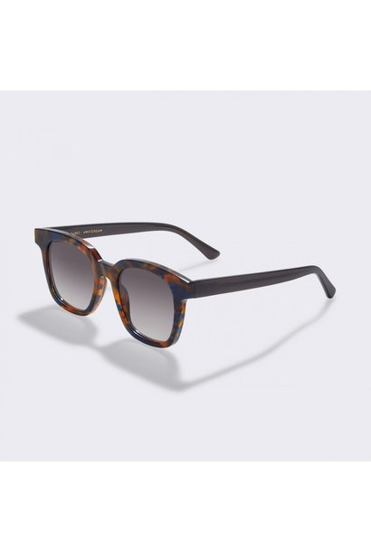 Basin Flame Brown Sunglasses