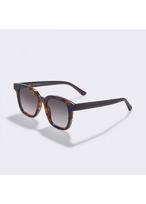 Gobi Basin Flame Brown Sunglasses