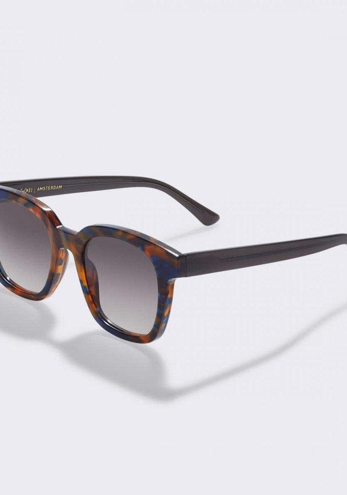 Basin Flame Brown Sunglasses