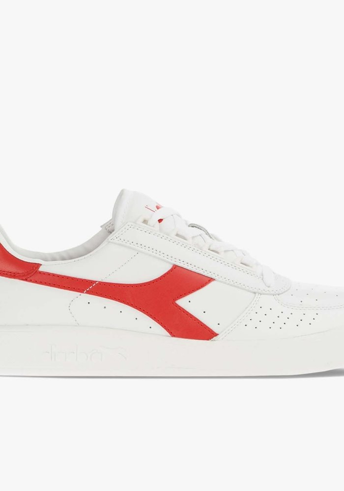 Elite B White Ferrari Red