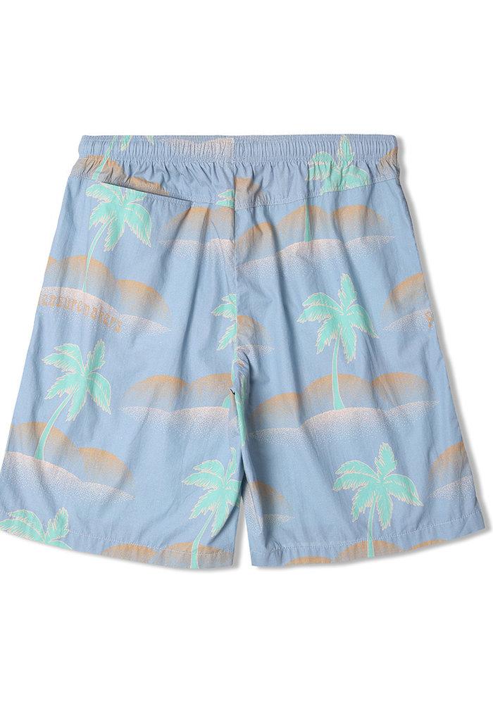 Chiba Short Ice Blue Palm