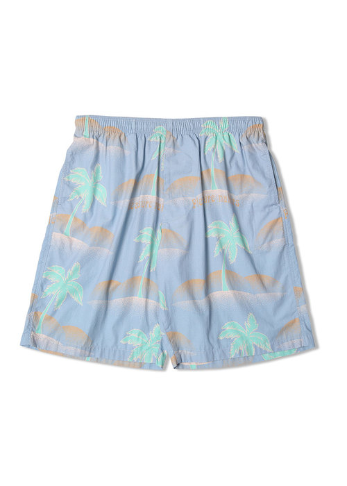 Edwin Jeans Chiba Short Ice Blue Palm