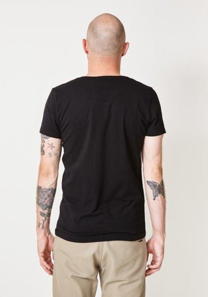 Anton Black Brushed T-shirt
