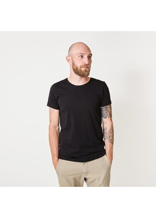 Suit Anton Black Brushed T-shirt