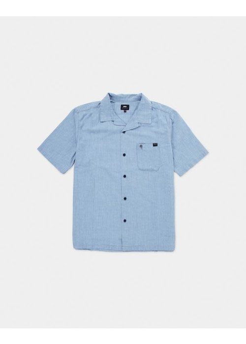 Edwin Jeans Resort Shirt Naples Blue 5oz Chambray