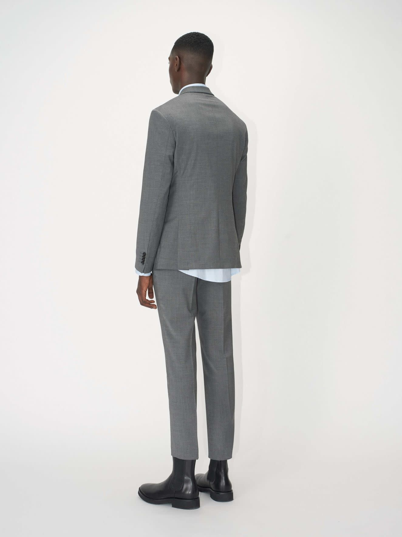 Tordon Suit Pants Light Grey-3