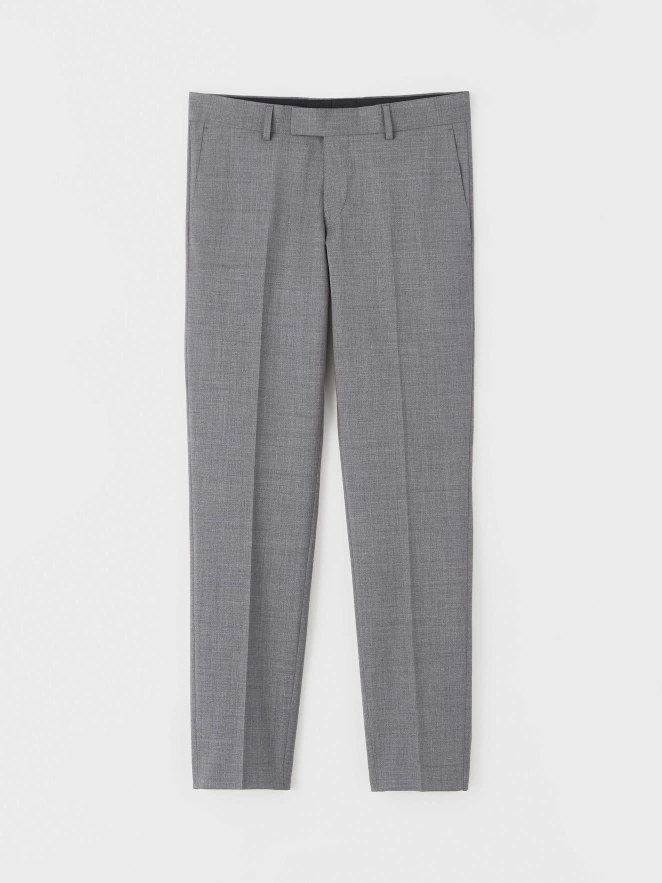 Tordon Suit Pants Light Grey-6