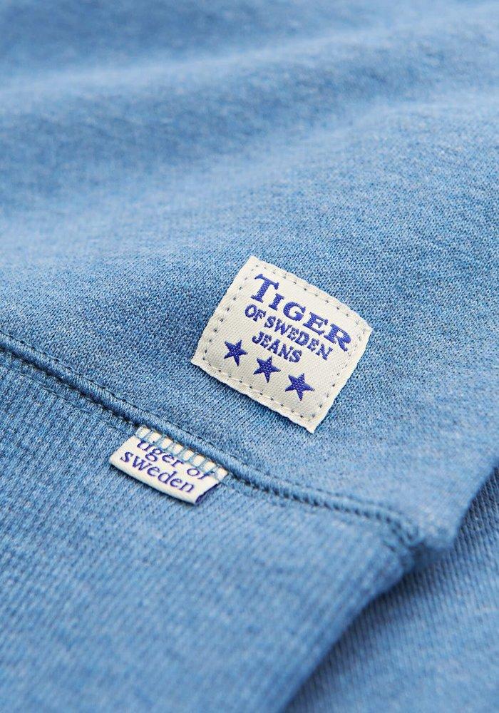 Lexxus Cotton Fleece Light Blue Sweater