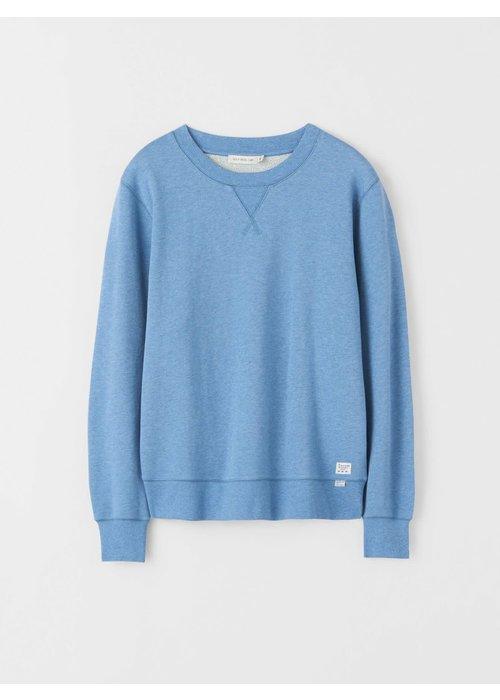 Tiger Of Sweden Lexxus Cotton Fleece Light Blue Sweater