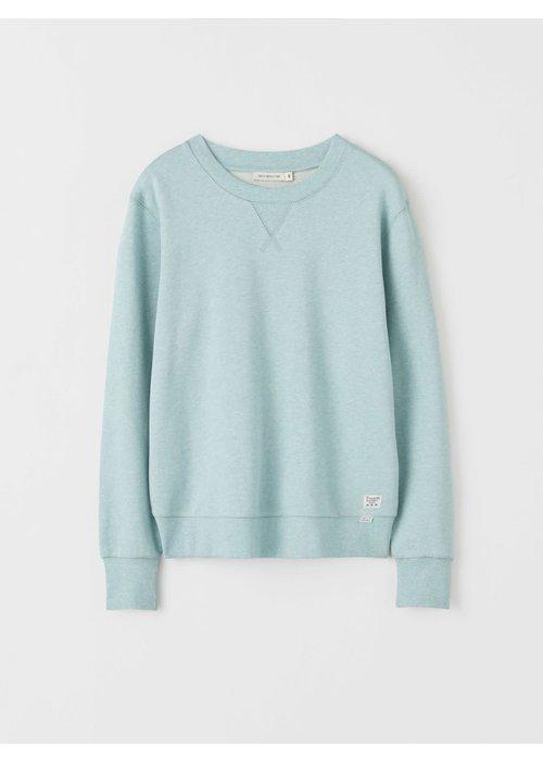 Tiger Of Sweden Lexxus Cotton Fleece Frosted Green Sweater