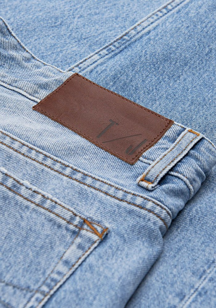 Jud light Blue Jeans Boxer Fit