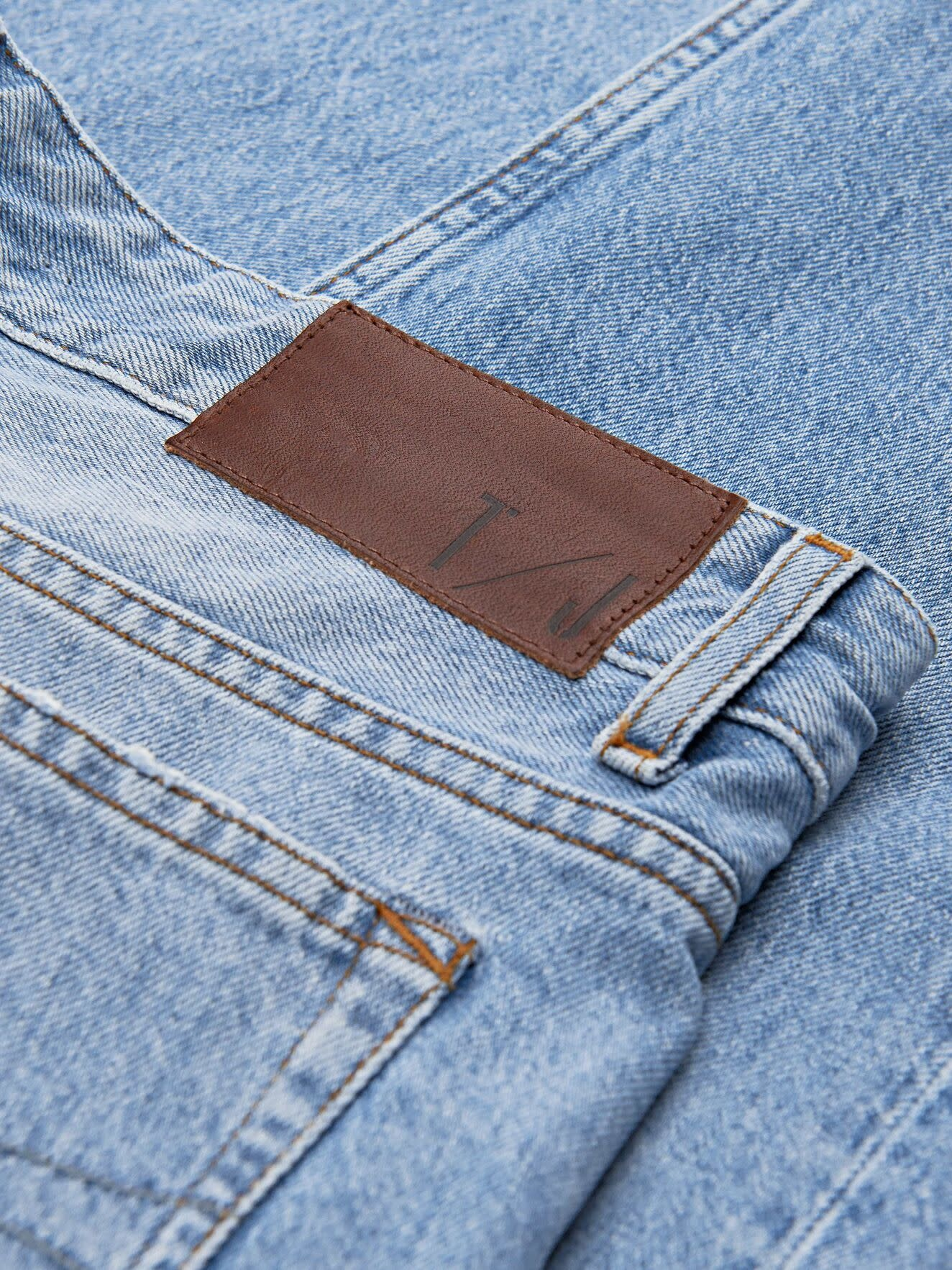 Jud light Blue Jeans Boxer Fit-3