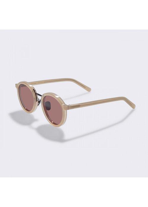 Gobi Loren Cold Beige Sunglasses