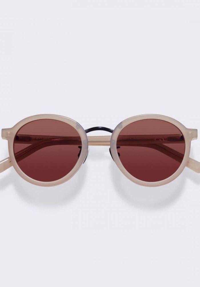 Loren Cold Beige Sunglasses