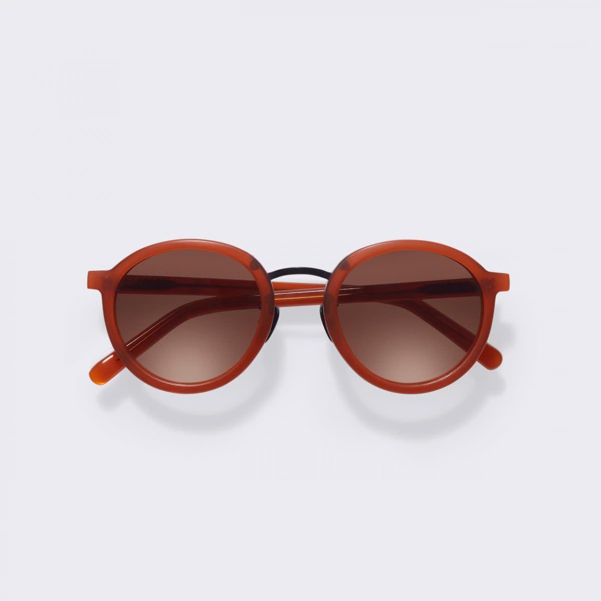 Loren Clay Red Sunglasses M340-5
