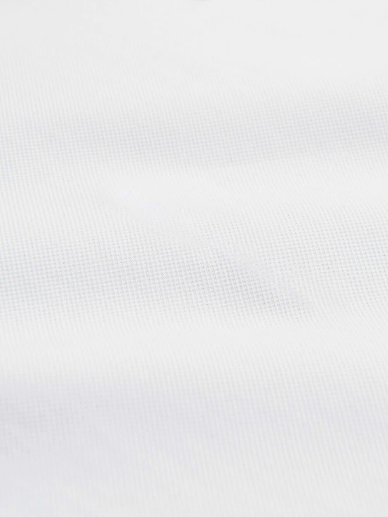 Darios witte jersey polo met platte kraag-2