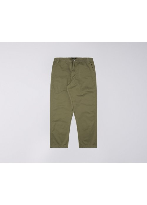 Edwin Jeans Labour Compact Twill Pant 9oz Green