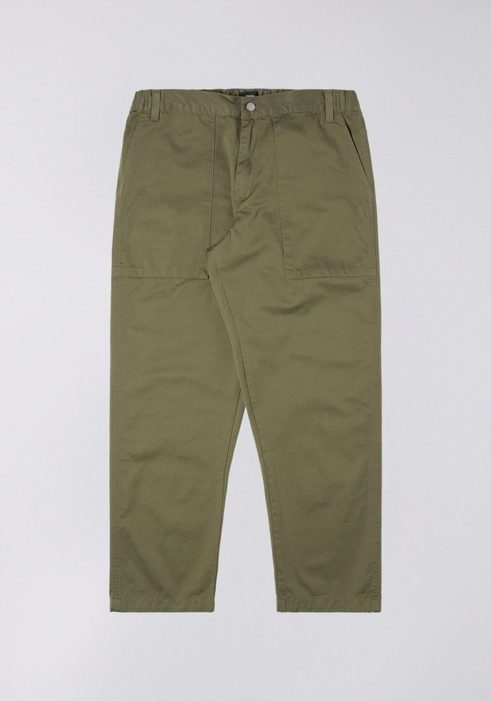 Labour Compact Twill Pant 9oz Green