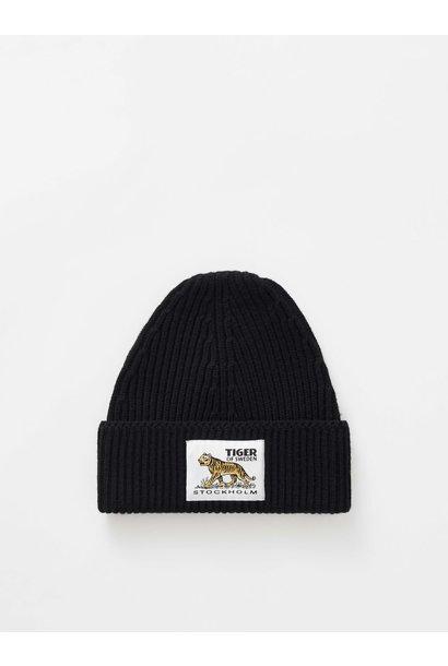 Hollein Wool Hat Black