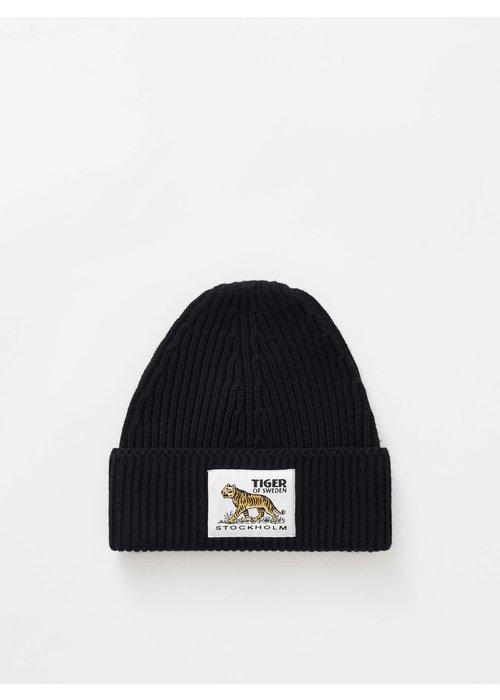 Tiger Of Sweden Hollein Wool Beanie Black