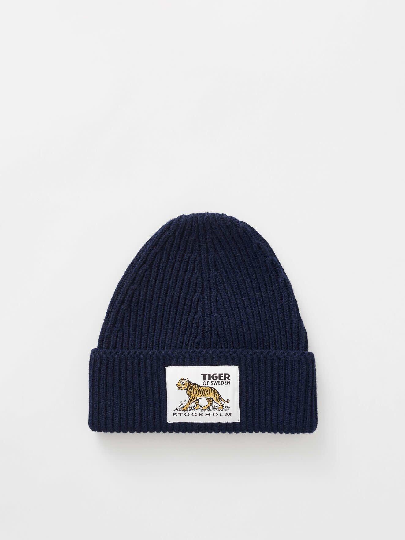 Hollein Wool Hat Navy-2