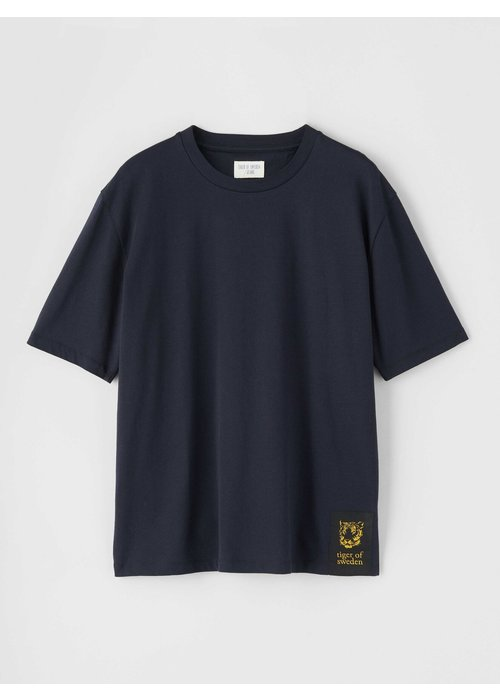 Tiger Of Sweden Pro Deep Well Navy Box Fit T-shirt