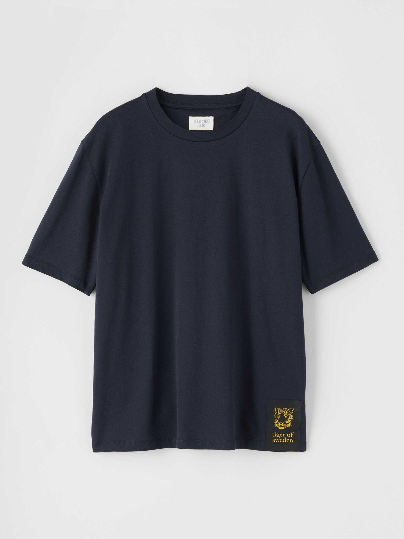 Pro Deep Well Navy Box Fit T-shirt-8