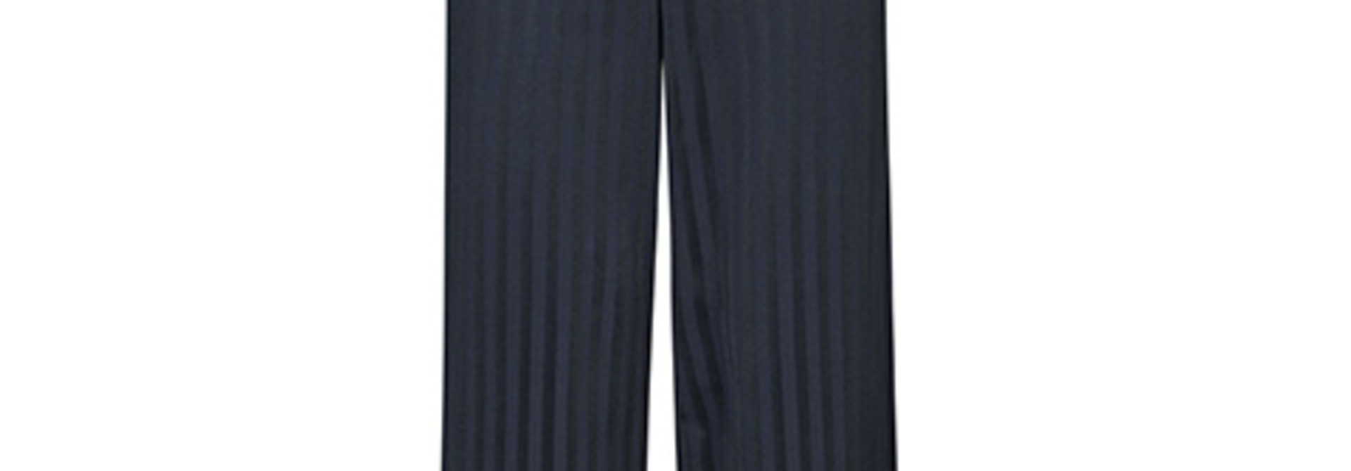 Read Anything Navy Stripe Trouser