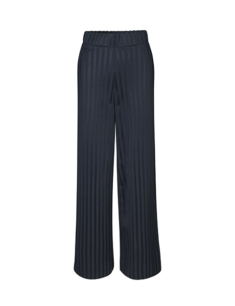 Read Anything Navy Stripe Trouser-1