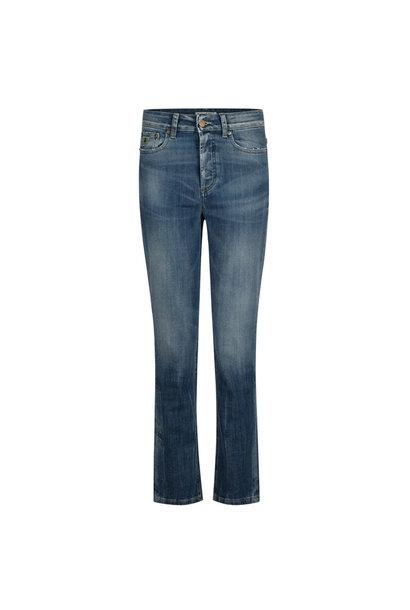 Retro Fit Rub Tobacco Jeans 7/8 Lengte